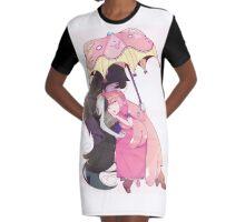 Warm Embrace Graphic T-Shirt Dress