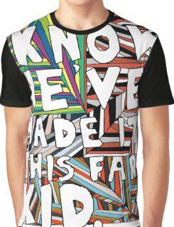Migraine lyrics Graphic T-Shirt