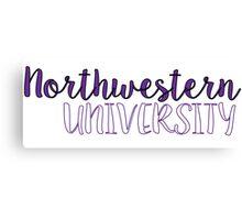 Northwestern University Canvas Print