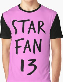 Star Fan 13 Graphic T-Shirt