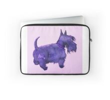 Scottie Watercolour Laptop Sleeve