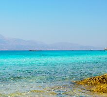 Amazing Beach of Chrissi Island, near Crete, Greece by Stanciuc