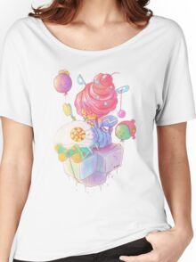 Cream and Sugar Women's Relaxed Fit T-Shirt