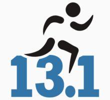 Half marathon 13.1 miles by Designzz