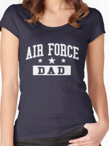 Air Force DAD Women's Fitted Scoop T-Shirt