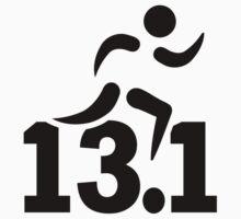 Half marathon runner by Designzz