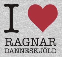 I Heart Ragnar Danneskjöld Kids Tee