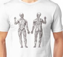 Muscle Men Fitness Addict Unisex T-Shirt