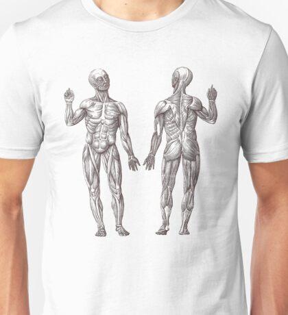 Muscle Men Fitness Addict Unisex T-Shirt