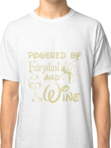 Wine - Powered By Fairydust An Wine Classic T-Shirt