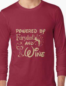 Wine - Powered By Fairydust An Wine Long Sleeve T-Shirt