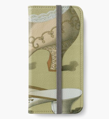 Victorian Shoe Drawing iPhone Wallet/Case/Skin