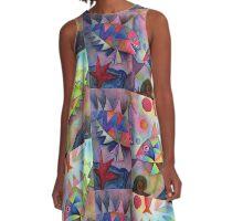 Fish farts 2 A-Line Dress