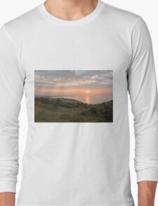Sunrise past Culver Downs Long Sleeve T-Shirt