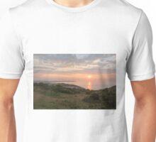 Sunrise past Culver Downs Unisex T-Shirt