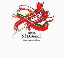 Royal Stewart - Prefer your gift on Black/White tell us at info@tangledtartan.com   Unisex T-Shirt