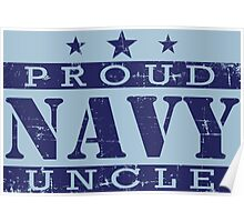 Proud NAVY Uncle Poster