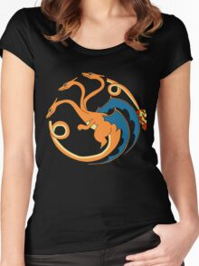 House Charizard Women's Fitted Scoop T-Shirt