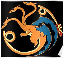 House Charizard Poster