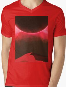 Second Sundown Mens V-Neck T-Shirt