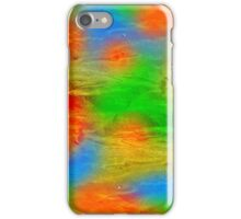 abstract background with colored spots iPhone Case/Skin
