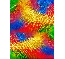 abstract background with colored spots Photographic Print