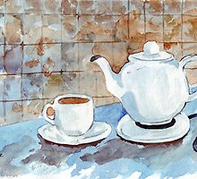 Tea for two by Maree Clarkson