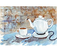 Tea for two Photographic Print