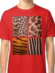 Textures of the Wild Classic T-Shirt