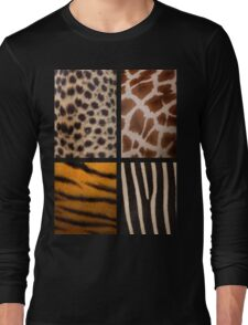 Textures of the Wild Long Sleeve T-Shirt