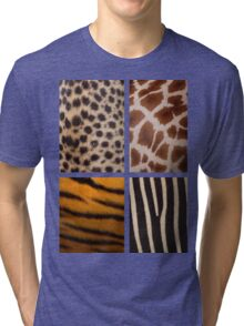 Textures of the Wild Tri-blend T-Shirt