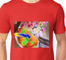 Fruit & flowers - Psychedelic colours Unisex T-Shirt
