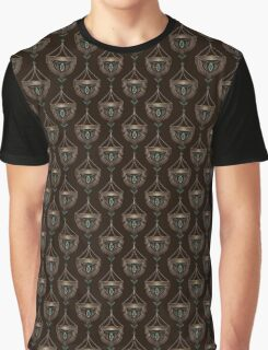 Seamless beautiful antique art deco pattern ornament. Geometric background design. Graphic T-Shirt
