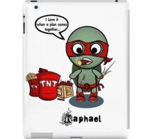 TMNT RAPH iPad Case/Skin