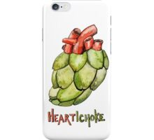 Heartichoke Pun Painting iPhone Case/Skin