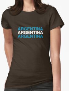 ARGENTINA Womens Fitted T-Shirt