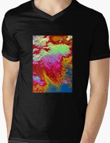 Abstract cloudscape Mens V-Neck T-Shirt