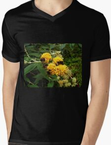 Bees and Buddleia Mens V-Neck T-Shirt