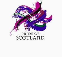 Pride of Scotland - Prefer your gift on Black/White tell us at info@tangledtartan.com  Unisex T-Shirt