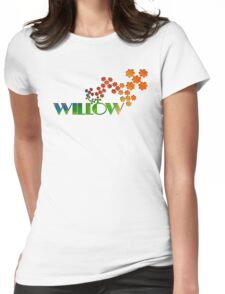 The Name Game - Willow Womens Fitted T-Shirt