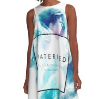 waterbed A-Line Dress