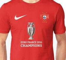 Portugal Jersey Champions Unisex T-Shirt