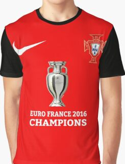 Portugal Jersey Champions Graphic T-Shirt