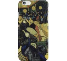 Vincent Van Gogh - The Dance Hall in Arles, 1888 iPhone Case/Skin