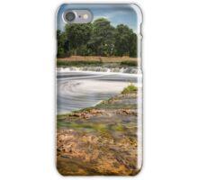 Waterfall in Kuldiga iPhone Case/Skin