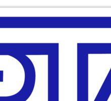 STI Classic Blue Sticker