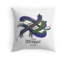 Clan Murray  Throw Pillow