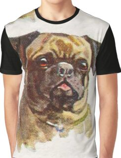Handsome Pug Graphic T-Shirt