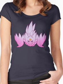 Shiny Mega Gengar Women's Fitted Scoop T-Shirt