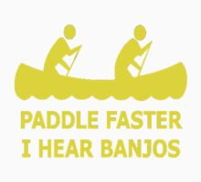 Paddle Fasther  Kids Tee